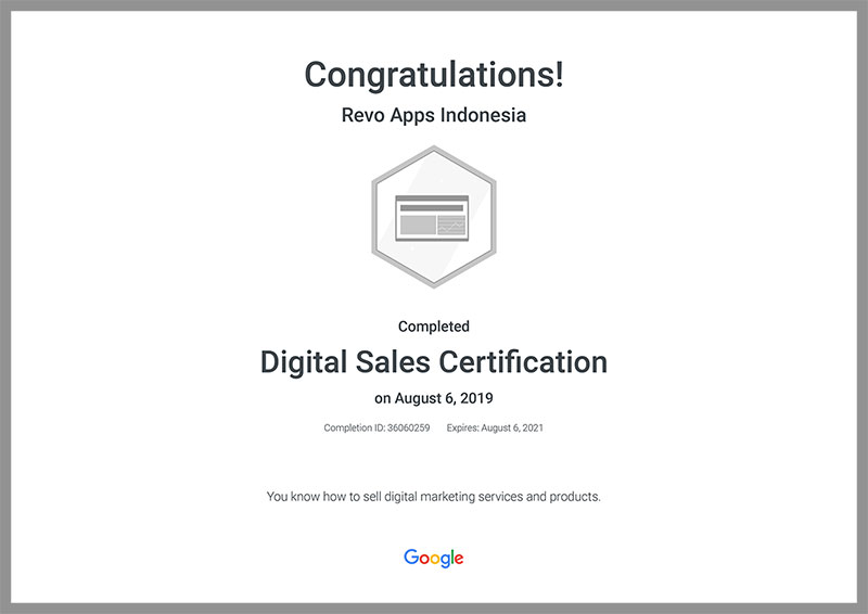 Revo-Apps-Google-Digital-Sales-Certification